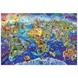 EuroGraphics 2000 db-os Puzzle - Crazy World - 8220-5343