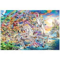 EuroGraphics 2000 db-os Puzzle - Unicorn Fantasy - 8220-5551