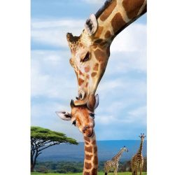 Eurographics 250 db-os puzzle - Save the Planet - Giraffe 8251-0294