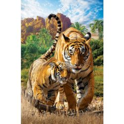 Eurographics 250 db-os puzzle - Save the Planet - Tigers 8251-5559