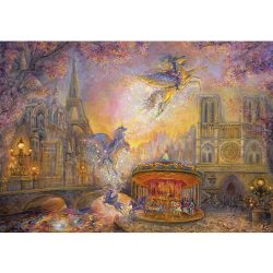Grafika 1500 db-os puzzle - Josephine Wall: Magical Merry Go Round 00278T