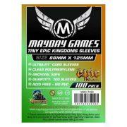Mayday: Tiny Epic Kingdoms kártyavédő 88 x 125 mm (100 db-os csomag)