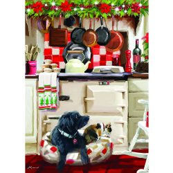 Otter House Puzzle 1000 db-os puzzle - Christmas Kitchen 75802