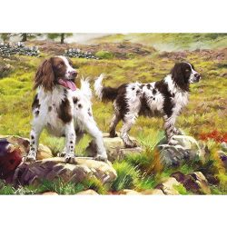Otter House Puzzle 1000 db-os puzzle - Spaniel on Moor 75804