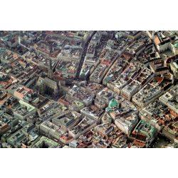 Puzzle 1000 db-os - Bécs légi felvétel - Piatnik