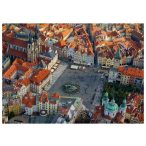 Puzzle 1000 db-os - Prága légi felvétel - Piatnik
