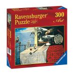 Ravensburger 300 db-os Art puzzle - Salvador Dalí: Gyorsan mozgó csendélet (14019)