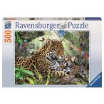 Ravensburger 500 db-os puzzle - Jaguár kölyök 14486