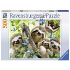 Ravensburger 500 db-os puzzle - Lajhár szelfie 14790