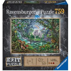 Ravensburger 759 db-os EXIT puzzle - Unikornis 15030