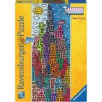Ravensburger 1000 db-os panoráma puzzle - James Rizzi:Times Square 15065