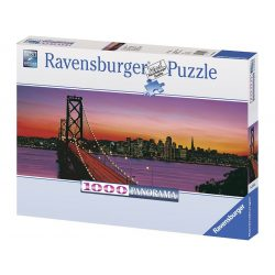 Ravensburger 1000 db-os panoráma puzzle - Oakland Bay Bridge, San Francisco 15104