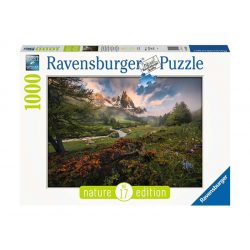 Ravensburger 1000 db-os puzzle - Vallée de la Clarée, Francia Alpok - Nature Edition 15993
