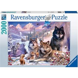 Ravensburger 2000 db-os puzzle - Farkasfalka 16012