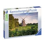 Ravensburger 1500 db-os puzzle - Szélmalom a Balti tengernél 16223