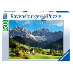 Ravensburger 1500 db-os puzzle - A csodás Dolomitok 16269