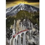 Ravensburger 1500 db-os puzzle - Téli kanyon 16358