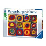 Ravensburger 1500 db-os Puzzle - Color study,squares with concentri circles, Kandisky 16377