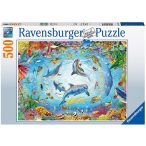 Ravensburger 500 db-os puzzle - Delfinvarázs 16447