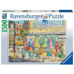 Ravensburger 1500 db-os puzzle - Divatos kirakat 16459