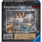 Ravensburger 368 db-os EXIT puzzle -  Plüss gyár 16484