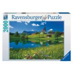 Ravensburger 2000 db-os puzzle - Oberbayern, Inzell 16660