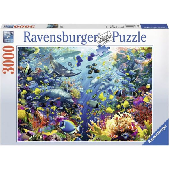 Ravensburger 3000 db-os puzzle - Vízalatti paradicsom (17067)