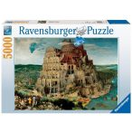 Ravensburger 5000 db-os puzzle - Bábel tornya 17423