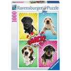 Ravensburger 1000 db-os puzzle - Kutya Pop Art 19481