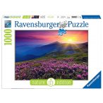 Ravensburger 1000 db-os puzzle - Reggel a hegyekben 19608