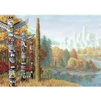 Ravensburger 1000 db-os puzzle - Amikor a két világ találkozik 19625