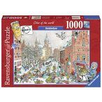Ravensburger 1000 db-os puzzle - Cities of the World - Amszterdam télen 19789