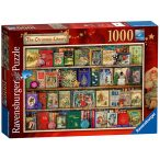 Ravensburger 1000 db-os puzzle - Karácsonyi könyvespolc 19801