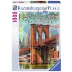 Ravensburger 1000 db-os puzzle - New York retró 19835