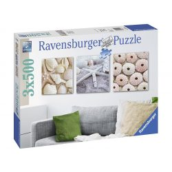 Ravensburger 3x500 db-os puzzle - Tengeri hangulat 19920