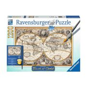 Ravensburger 1200 db-os puzzle - Touch of Gold - Antik világ 19931