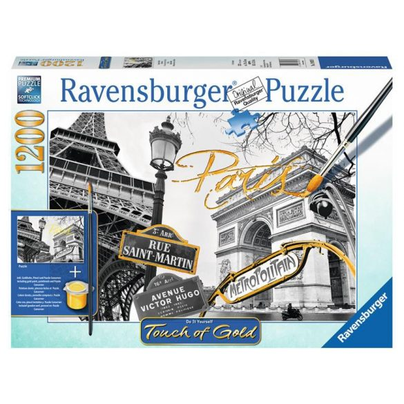 Ravensburger 1200 db-os puzzle - Touch of Gold - Párizs