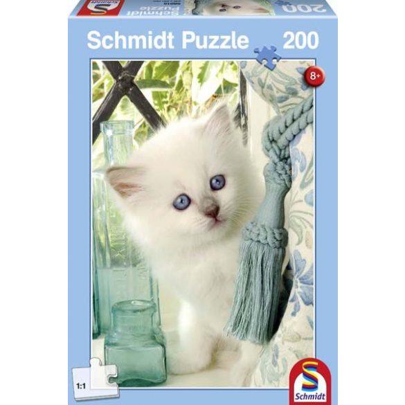 Puzzle 200 db-os - Florice cica/Florice the cat - Schmidt (56015)