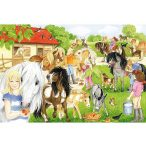 Puzzle 60 db-os - Fun at the Riding Stables - Schmidt