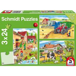 Puzzle 3x24 db-os - A farmon - Schmidt 56216