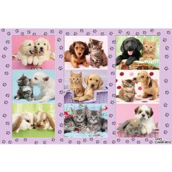 Puzzle 100 db-os - A kis barátaim - Schmidt 56268