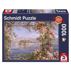 Puzzle 1000 db-os - Mediterrán sziget - Schmidt 58378