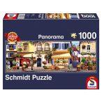 Panoráma Puzzle 1000 db-os - Séta Párizsban - Schmidt (58383)