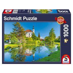 Puzzle 1000 db-os - Breitbrunn, Ausztria - Schmidt 58389