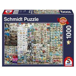 Puzzle 1000 db-os - Szuvenírstand - Schmidt 58394