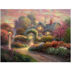 Puzzle 1000 db-os - Cottage im Rosengarten - Thomas Kinkade-Schmidt (59466)