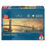 Puzzle 1000 db-os - Brooklyn híd, New York - Schmidt 59476