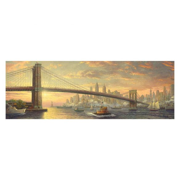 Puzzle 1000 db-os - Brooklyn híd, New York - Schmidt 59476