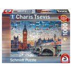 Puzzle 1000 db-os - London - Charis Tsevis - Schmidt 59579