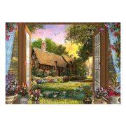 Puzzle 1000 db-os - Kilátás a kunyhóra - Dominic Davison - Schmidt 59591